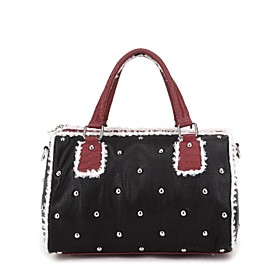 TS Metallic Jeweled Tote Bag(32cm 12cm 24cm)