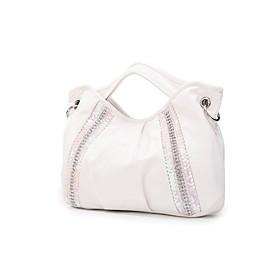 TS Jewel Lined Satchel Bag(39cm 27cm 7cm)