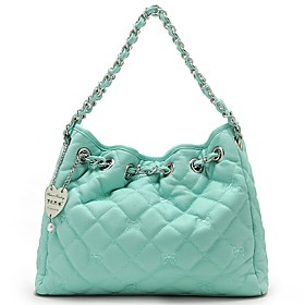 TS Quilted Chain Hobo Bag(31cm 24cm 9cm)