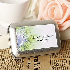 Personalized Favor Tin - Vitality (Set of 12)