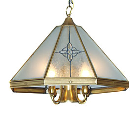 Pendant Light with 5 Lights in Antique Style