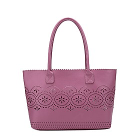 TS Embroidered Shoulder Tote Bag (More Colors)(40cm 24cm 11cm)