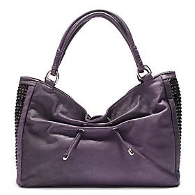 TS Metallic Embellished Tote Bag(42cm 29cm 12cm)