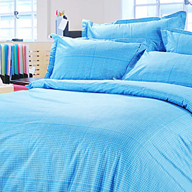 City Style Jacquard Full 4-piece Duvet Cover Set