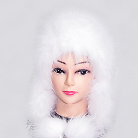 Luxurious 100% Handmade Fox Fur Hat