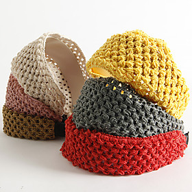 Knitted Wide Head Band (Assorted Colors)