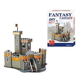 Small Castle 3D DIY Puzzle