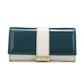 Smooth Buckle Leather Wallet (More Colors)(19cm 10cm 3.5cm)