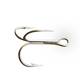 Treble Hooks Fishing Accessories Hooks (5 Pieces Packed)
