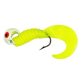 Soft Fishing Lure Worm Bait 50MM 16G (6 Pieces/Bag)