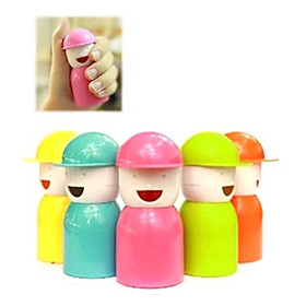 Happy Boy Shaped Toothpick Holder (Assorted Colors)
