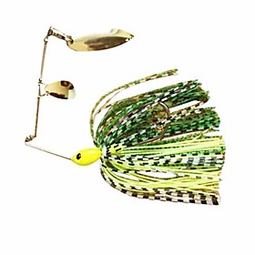 SPINNERBAIT Mental Buzz Bait Single-pole Double-chip 7G (10 Pieces Packed)
