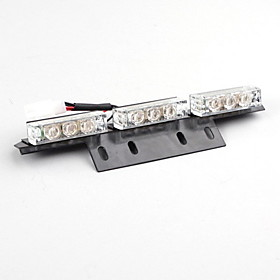 12x3 LED Flashing Light Panels (White, Amber)