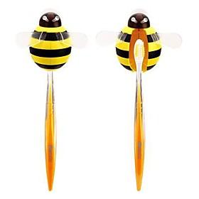 Yellow Bee Design Toothbrush Holder
