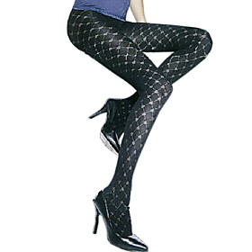 TS Heart to Heart Print Pantyhose