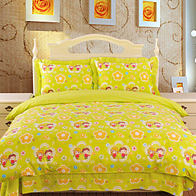 Sweet Moment B Jacquard Full 4-piece Duvet Cover Set