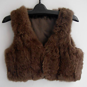 TS Quality Fur Mini Vest