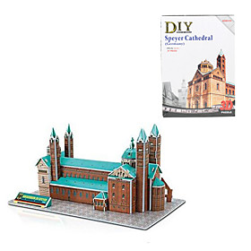 Germany Speyer Cathedral 3D DIY Puzzle