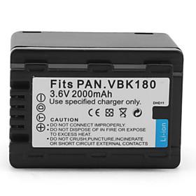 Digital Camcorder Battery for Panasonic HDC-HS60 (3.6V, 2000mAh)