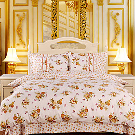 Flower Recalls Full 4-piece Duvet Cover Set