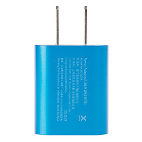 X-Jacke Klitz mini USB Power Adapter (blau)