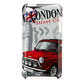 Protective Car Pattern Case for iPod Touch 4