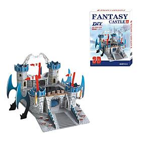 Fantasy Castle 3D DIY Puzzle