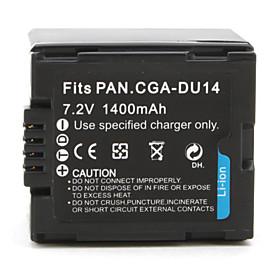 Digital Camcorder Battery for Panasonic NV-GS10 (7.2V, 1400mAh)