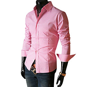 Check Shirting Man's Fashion Shirt