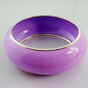 Lavender Bangle Bracelet