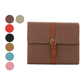 PU Leather Protective Case with Belt for iPad and iPad 2 (Assorted Colors)