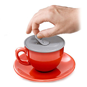 Can Cover Shaped Cup Lid (Random Color)