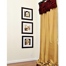 dobles cortinas plisadas para ventanas clásicas (par)