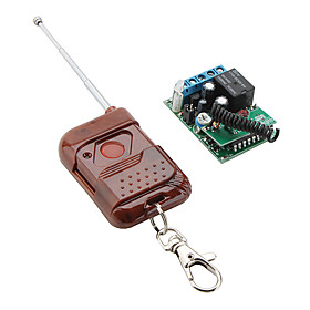 Fixed Code Remote Control Switch with 1-Key Transmitter