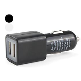 Dual USB Car Charger for iPad (5V, 2100mA)
