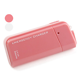Portable Emergency Charger With 2 AA Batteries for iPhone and iPod