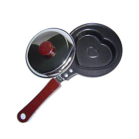 Novelty Fried Egg and Omelette Pan with Lid (Assorted Patterns)
