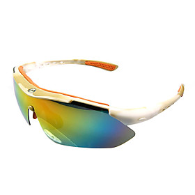 Basto-High Quality Sports Glasses Cycling Glasses with 3 Pieces UV Filtering ,Polarized and One Piece Lens (6 Colors Available)