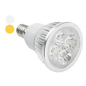 E14 4W 360LM Cold/Warm White Light LED Spot Bulb (85-265V)