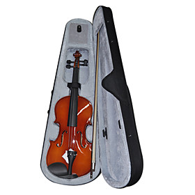 4/4 3/4 1/2 1/4 1/8 Student Grade Glossy Plywood Top Violin