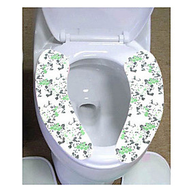 Floral Protective Pad For Toilet Seat