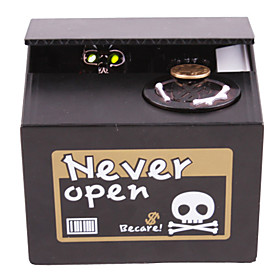 Creative Ghost Design Coin Bank Saving Box (Random Color)