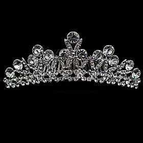 Rhinestone And Crystal Bridal Tiara