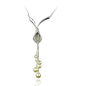 Common Calla Pearl Necklace
