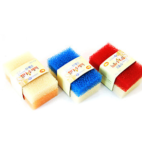 Colorful Strong Decontamination Cleaning Sponge (Two Packs)