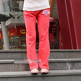 acogedoras pantalones deportivos de maternidad