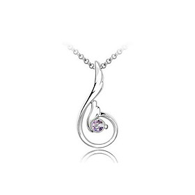 Angel Wings Crystal Necklace