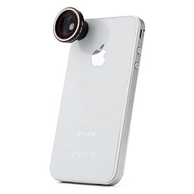 180 Degree Fish Eye Lens for iPhone, iPad  Other Cellphone
