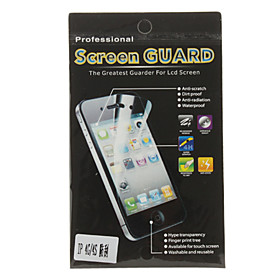 High Transparency Anti-scratch Screen Protector with Cleaning Cloth for iPhone 4 and 4S