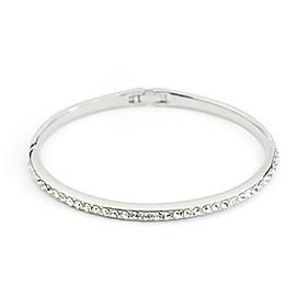 Oval Austrian Crystal Bracelet